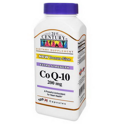 21st Century Health Care, Co Q-10, 200mg, 120 Capsules