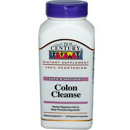 21st Century Health Care, Colon Cleanse, 120 Veggie Caps