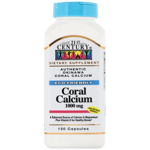 21st Century, Coral Calcium, 1000 mg, 120 Capsules Review