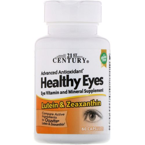21st Century, Healthy Eyes, Lutein & Zeaxanthin, 60 Capsules Review