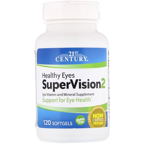 21st Century, Healthy Eyes SuperVision2, 120 Softgels Review