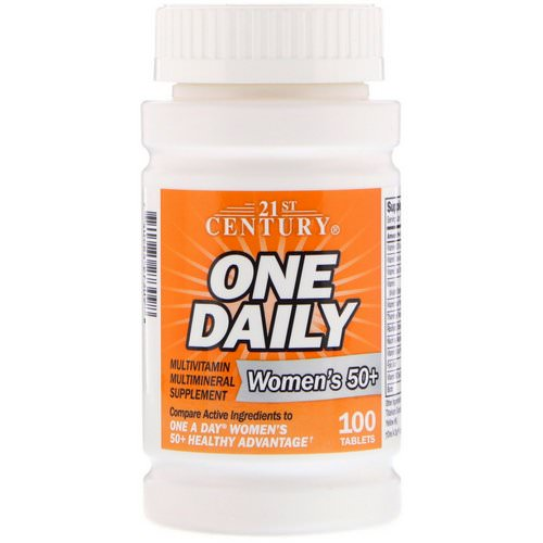 21st Century, One Daily, Woman's 50+, Multivitamin Multimineral, 100 Tablets Review
