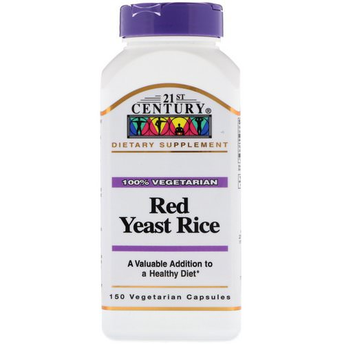21st Century, Red Yeast Rice, 150 Vegetarian Capsules Review