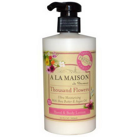 A La Maison de Provence, Hand & Body Lotion, Thousand Flowers, 10 fl oz (300 ml)