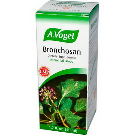 A Vogel, Bronchosan, Bronchial Drops, 1.7 fl oz (50 ml)
