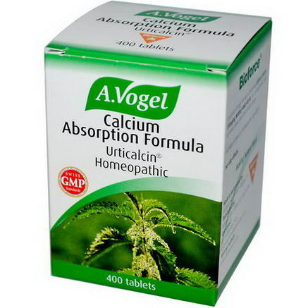 A Vogel, Calcium Absorption Formula, 400 Tablets