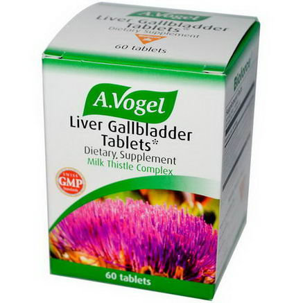 A Vogel, Liver Gallbladder Tablets, 60 Tablets
