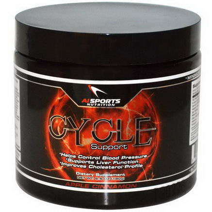 AI Sports Nutrition Anabolic Innovations, Cycle Support, Apple Cinnamon, 6.5oz (180g)