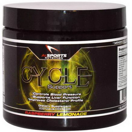 AI Sports Nutrition Anabolic Innovations, Cycle Support, Raspberry Lemonade, 6.5oz (180g)