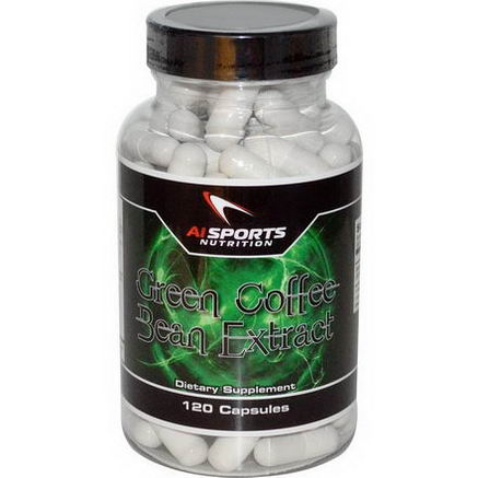 AI Sports Nutrition Anabolic Innovations, Green Coffee Bean Extract, 120 Capsules