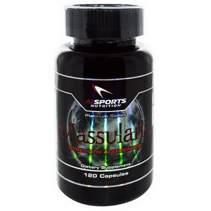 AI Sports Nutrition Anabolic Innovations, Massularia, Strength Augmenter, 120 Capsules