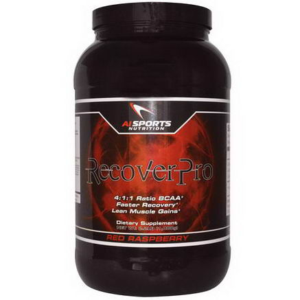 AI Sports Nutrition Anabolic Innovations, RecoverPro, Red Raspberry, 2.2 lbs (1, 000g)