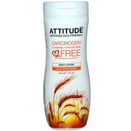 ATTITUDE, Body Lotion, Daily Moisturizer, 12 fl oz (355 ml)