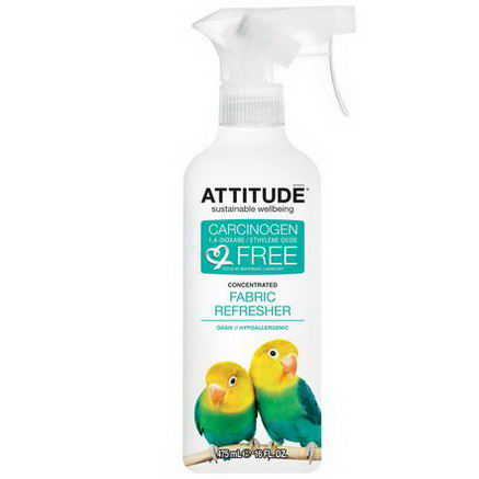 ATTITUDE, Concentrated Fabric Refresher, Oasis, 16 fl oz (475 ml)