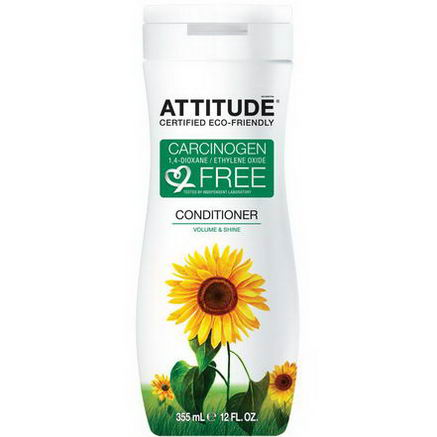 ATTITUDE, Conditioner, Volume & Shine, 12 fl oz (355 ml)