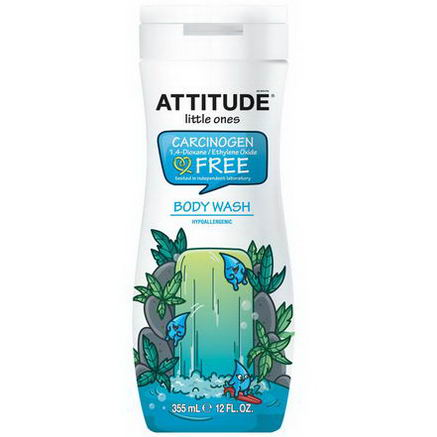 ATTITUDE, Little Ones, Body Wash, 12 fl oz (355 ml)