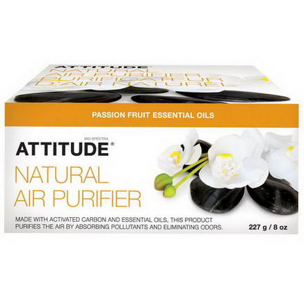 ATTITUDE, Natural Air Purifier, Passion Fruit, 8oz (227g)