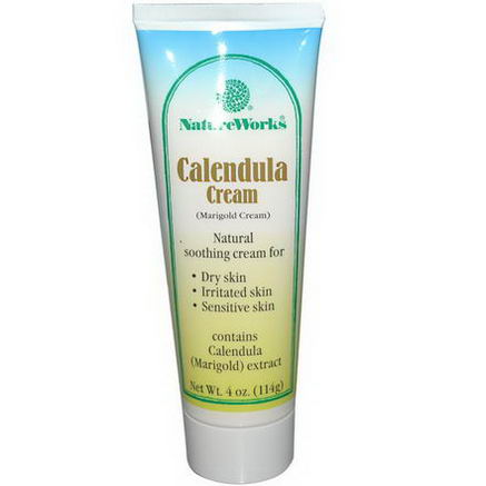 Abkit, NatureWorks, Calendula Cream, 4oz (114g)