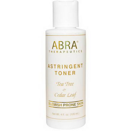 Abra Therapeutics, Herbal Astringent Toner, 4 fl oz (120 ml)