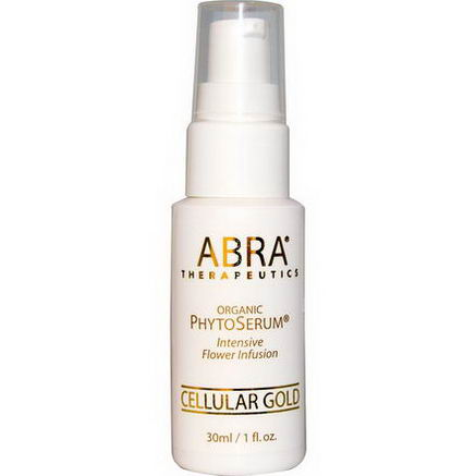 Abra Therapeutics, Organic PhytoSerum, Cellular Gold, 1 fl oz (30 ml)