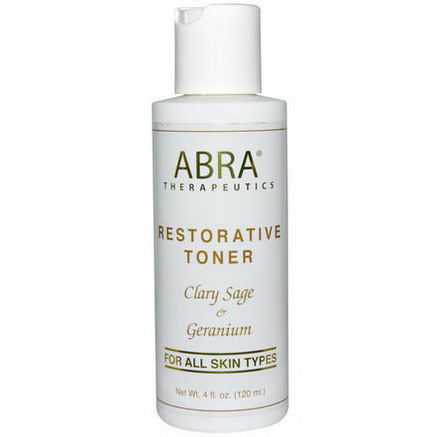 Abra Therapeutics, Restorative Toner, 4 fl oz (120 ml)