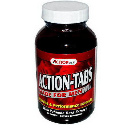 Action Labs, Action-Tabs, Made for Men, 60 Tablets