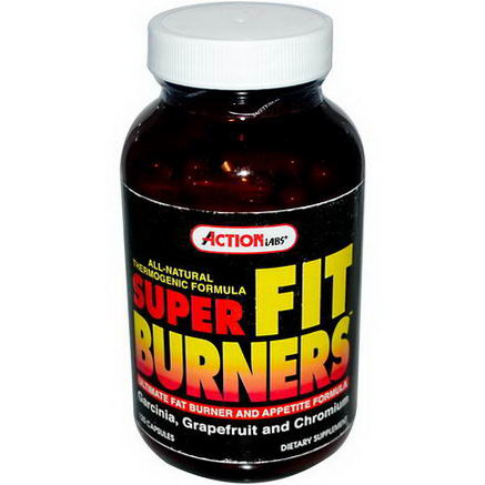 Action Labs, Super Fit Burners, 120 Capsules