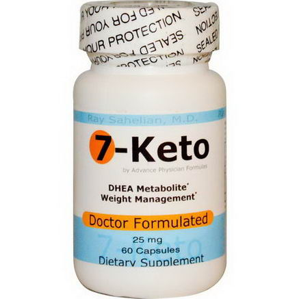 Advance Physician Formulas, Inc. 7-Keto, 25mg, 60 Capsules