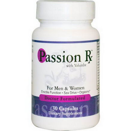 Advance Physician Formulas, Inc. Passion Rx with Yohimbe, 30 Capsules