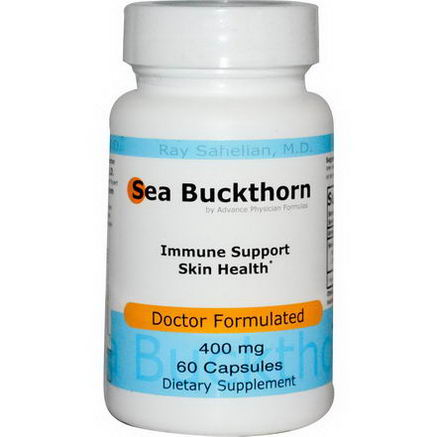 Advance Physician Formulas, Inc. Sea Buckthorn, 400mg, 60 Capsules