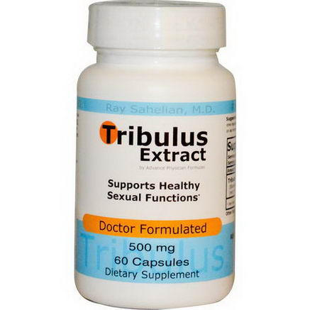 Advance Physician Formulas, Inc. Tribulus Extract, 500mg, 60 Capsules