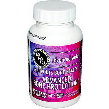 Advanced Orthomolecular Research AOR, Advanced Bone Protection with MBP, 30 Veggie Caps