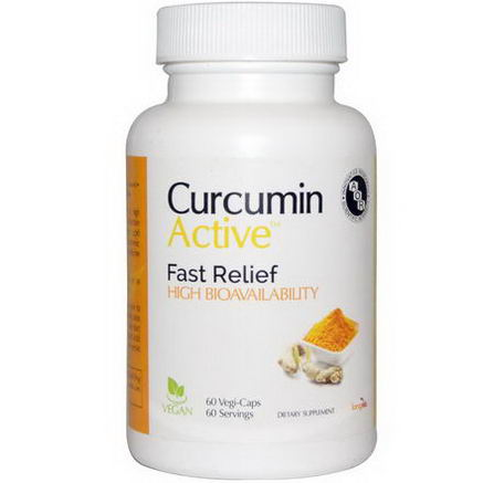 Advanced Orthomolecular Research AOR, Curcumin Active, 60 Veggie Caps
