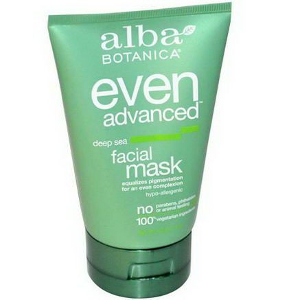 Alba Botanica, Even Advanced Deep Sea Facial Mask, 4oz (113g)