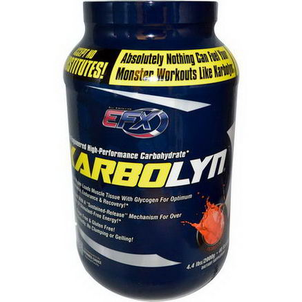 All American EFX, Karbolyn, Fearless Fruit Punch, 4.4 lbs (2000g)