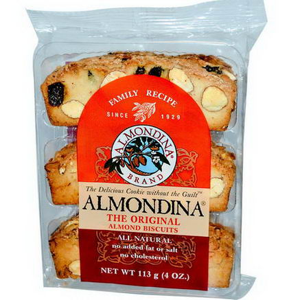 Almondina, The Original Almond Biscuits, 4oz (113g)