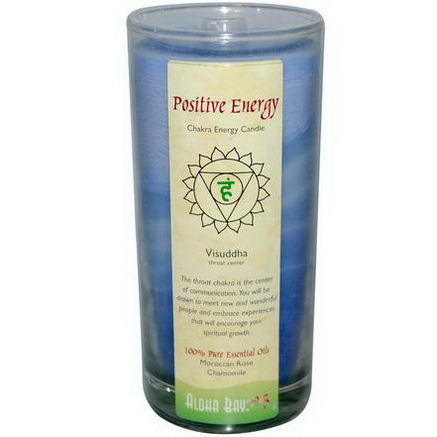 Aloha Bay, Chakra Energy Candle, Positive Energy, 11oz