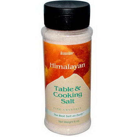 Aloha Bay, Himalayan, Table & Cooking Salt, 6oz