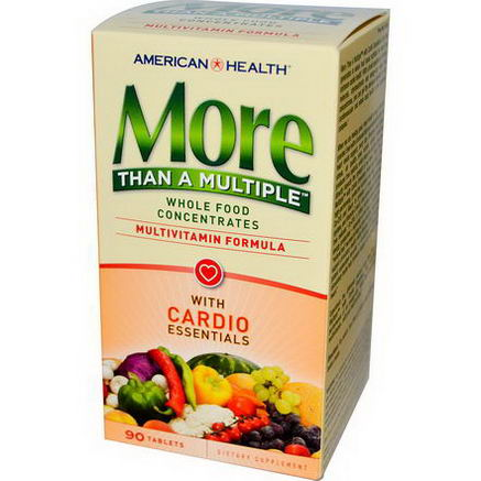 American Health, More Than A Multiple, With Cardio Essentials, 90 Tablets