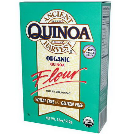 Ancient Harvest, Organic, Quinoa Flour, 18oz (510g)