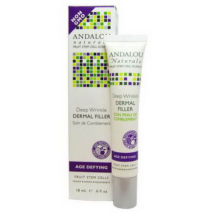 Andalou Naturals, Deep Wrinkle Dermal Filler, Age Defying, 6 fl oz (18 ml)