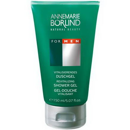 AnneMarie Borlind, Revitalizing Shower Gel, For Men, 5.07 fl oz (150 ml)