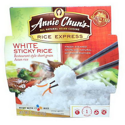 Annie Chun's, Rice Express, White Sticky Rice, 7.4oz (210g)