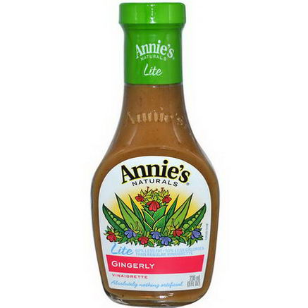 Annie's Naturals, Lite Gingerly Vinaigrette, 8 fl oz (236 ml)