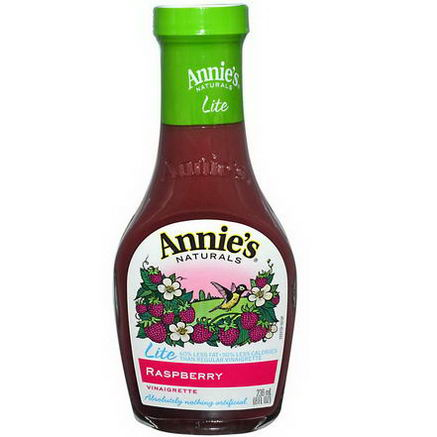 Annie's Naturals, Lite, Raspberry Vinaigrette, 8 fl oz (236 ml)
