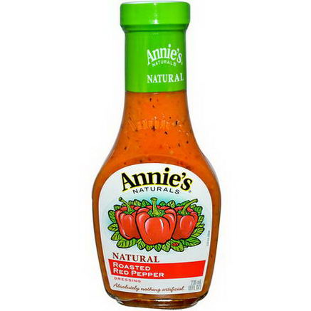 Annie's Naturals, Natural Roasted Red Pepper Dressing, 8 fl oz (236 ml)