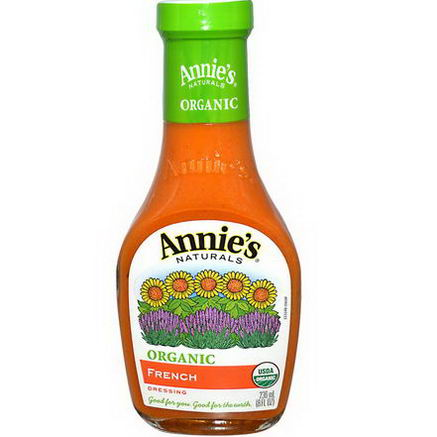 Annie's Naturals, Organic, French Dressing, 8 fl oz (236 ml)