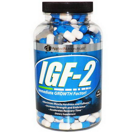 Applied Nutriceuticals, Inc. IGF-2, Immediate Growth Factor, 240 Capsules
