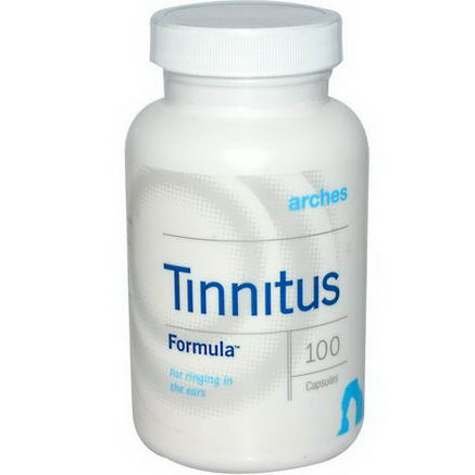 Arches Natural Products, Inc. Tinnitus Formula, 100 Capsules