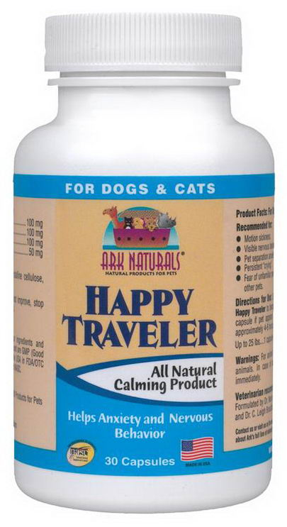 Ark Naturals, Happy Traveler, All Natural Calming Product, 30 Capsules